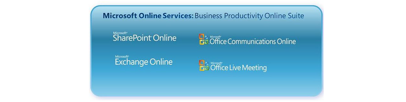 Microsoft Business Productivity Online Suite (BPOS)